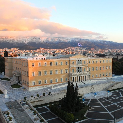 The Greek Parliament