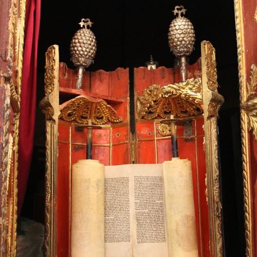 Romaniote Sefer Torah