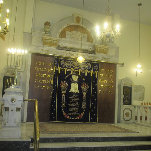 Synagogue in Salonika