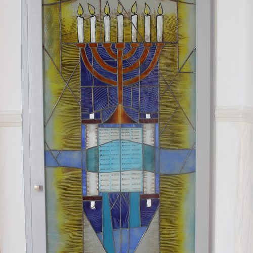 Synagogue Larissa vitro