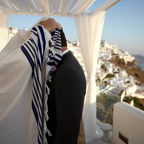 Vow Renewal Ceremony Santorini
